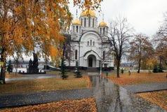 Igreja de St George Victorious no Samara Fotos de Stock Royalty Free