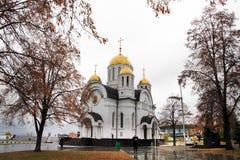 Igreja de St George Victorious no Samara Foto de Stock