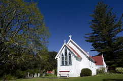 Igreja de St James em Kerikeri Fotos de Stock Royalty Free