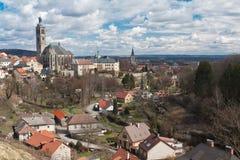 Igreja de St James em Kutna Hora, República Checa imagens de stock