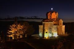 Igreja de St John em Kaneo em Ohrid macedonia Foto de Stock Royalty Free