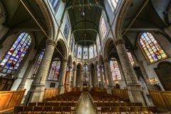 Igreja de St John, Gouda Imagens de Stock