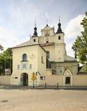 Igreja de St John o batista em Janow Lubelski poland Imagem de Stock