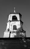 Igreja de St John o batista em Roschene Imagens de Stock