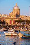 Igreja de St Joseph em Kalkara, Malta Fotografia de Stock Royalty Free