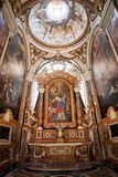 A igreja de St Louis do francês em Roma Foto de Stock Royalty Free