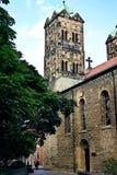 Igreja de St Ludger - marco em Muenster Fotos de Stock