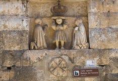 Igreja de St. Maria del Soccorso. Monopoli. Itália. foto de stock