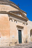 Igreja de St. Maria della Porta. Lecce. Puglia. Itália. Imagens de Stock