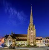 A igreja de St Martin Birmingham England fotografia de stock