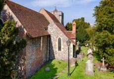 Igreja de St Martin em Canterbury Kent South East England Reino Unido fotografia de stock