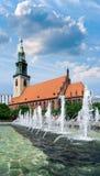 A igreja de St Mary em Berlim Fotos de Stock Royalty Free