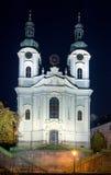 A igreja de St Mary Magdalene, Karlovy varia; Fotografia de Stock Royalty Free