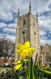 A igreja de St Mary Fotos de Stock Royalty Free