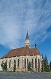 A igreja de St Michael, Cluj Napoca, Romênia Fotografia de Stock