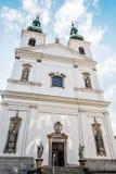 Igreja de St Michael em Brno, república checa Foto de Stock Royalty Free