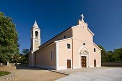 Igreja de St.Michael em Murter Imagens de Stock Royalty Free