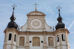 Igreja de St Michael em Vilnius, Litnuania foto de stock