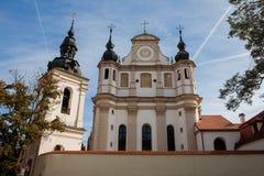 Igreja de St Michael em Vilnius, Litnuania fotos de stock