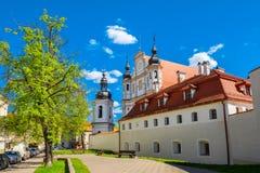 Igreja de St Michael Vilnius, Lithuania imagem de stock