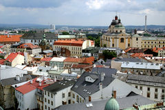 Igreja de St Michal - Olomouc Imagem de Stock