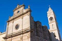 Igreja de St. Michele. Manduria. Puglia. Itália. Fotos de Stock