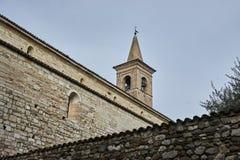 Igreja de St Pancrazio de Montichiari Bríxia Itália Foto de Stock Royalty Free