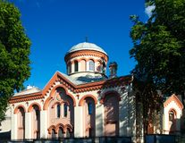 Igreja de St Paraskeva, Vilnius Foto de Stock Royalty Free