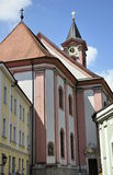 Igreja de St Paul em Passau Fotos de Stock Royalty Free