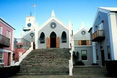 A igreja de St Peter, Bermuda Fotografia de Stock