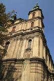 Igreja de St Peter e de Paul em Nysa fotos de stock