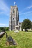 A igreja de St Peter e de St Paul, Lavenham. Imagem de Stock