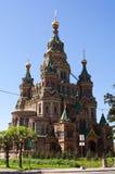 Igreja de St. Peter e Paul Peterhof Imagem de Stock Royalty Free