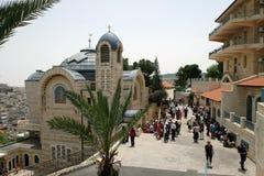 Igreja de St Peter em Gallicantu foto de stock