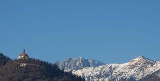 Igreja de St Peter em Zuglio Imagem de Stock Royalty Free