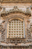 Igreja de St. Sebastiano. Galatone. Puglia. Itália. Foto de Stock