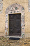 Igreja de St. Silvestro. Salsomaggiore. Emilia-Romagna. Itália. foto de stock