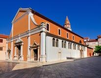 Igreja de St Simeon, Zadar Imagem de Stock Royalty Free
