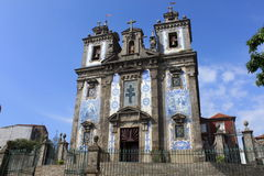 Igreja de Sto Ildefonso. In Porto, Portugal royalty free stock photos