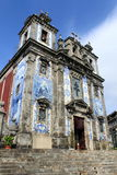 Igreja de Sto Ildefonso. In Porto, Portugal stock photo