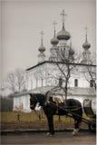A igreja de Suzdal Fotografia de Stock