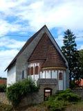 A igreja de Szalonna (Hungria) Fotografia de Stock