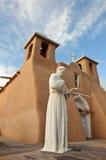 Igreja de Taos Fotografia de Stock Royalty Free