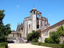 A igreja de Templar em Tomar Foto de Stock