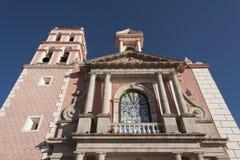 Igreja de Tequisquiapan Imagens de Stock Royalty Free