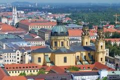 Igreja de Theatine em Munich fotos de stock
