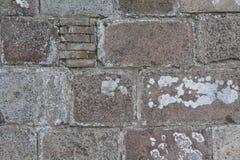Igreja de Thorsted da parede de pedra Imagens de Stock Royalty Free
