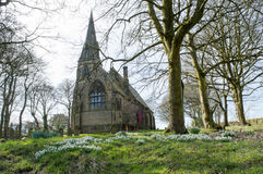 Igreja de Thurstonland Fotos de Stock
