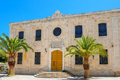 Igreja de Titos de Saint Heraklion, Creta imagem de stock