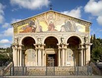 Igreja de todas as nações 1 Foto de Stock